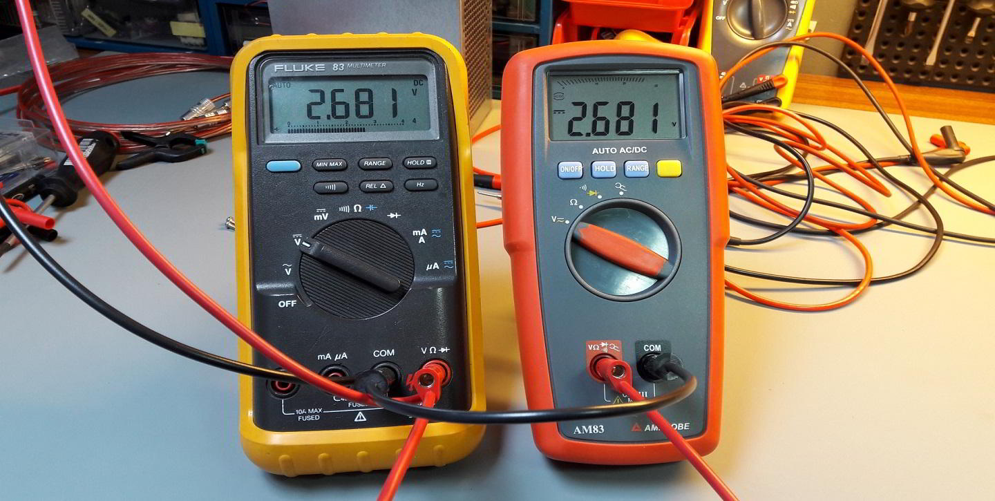Fluke Multimeter Test Equipment Thumbnail