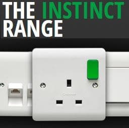 Crabtree acts on INSTINCT with wiring accessories launch