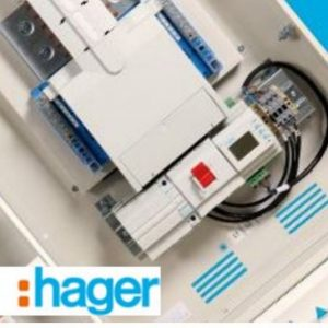 electrical supplier hager logo