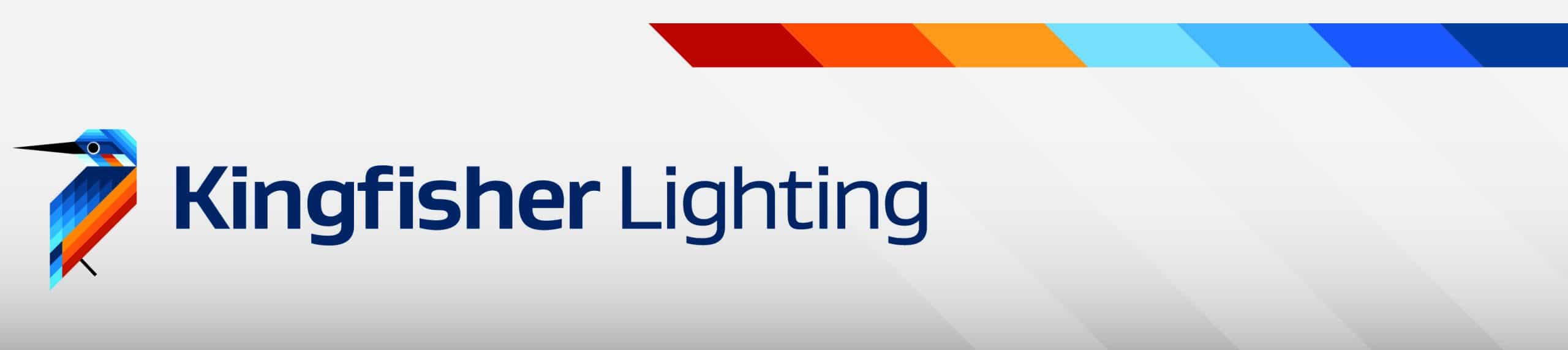 kingfisher lighting logo