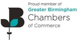 proud member of the greater birmingham chambers of commerce