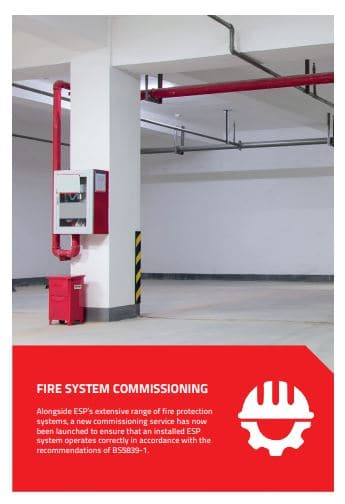 fire alarm system commissioning from esp