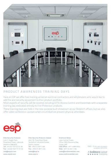 fire alarm system training from esp